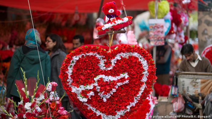 Valentinstag Pakistan Islamabad