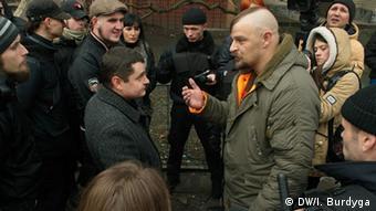 Речник Правого сектора Олексій Бик не цурався образливих висловлювань на адресу геїв і лесбійок