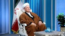 Titel: Hashemi Rafsanjani Iran Akbar Hashemi Rafsanjani, gemäßigter Politiker innerhalb der Islamischen Republik Iran. Ultrakonservativen nennen ihn als Verräter. Quelle:Ilna