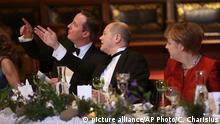 Richtung Europa: David Cameron (links) mit Olaf Scholz und Angela Merkel