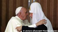 Patriarch Kirill und Papst Franziskus Kuba