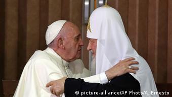 Pope Francis and Orthodox Patriarch Kirill
