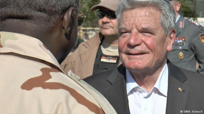 Bundespräsident Gauck zu Besuch in Bamako, Mali