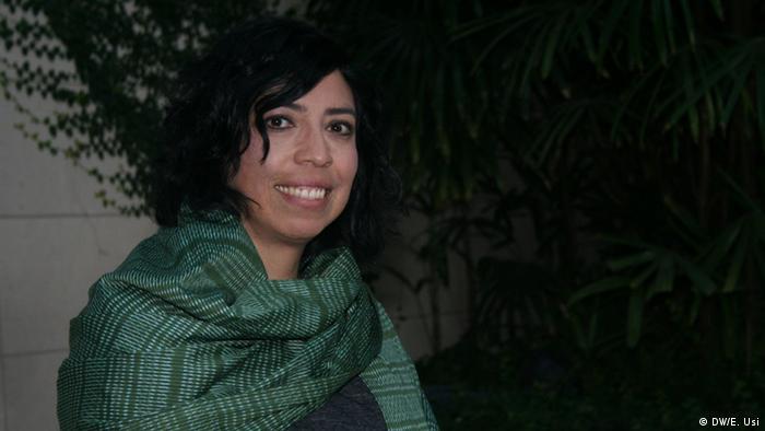 La documentalista salvadoreña Tatiana Huezo.