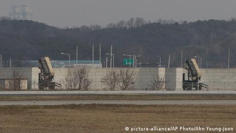 Südkoea US-Patriot Raketen (picture-alliance/AP Photo/Ahn Young-joon)