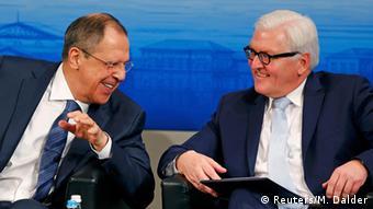 München Sicherheitskonferenz - Lawrow und Steinmeier