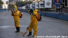 Brasilien Zika Virus - Gegenmaßnahmen in Rio de Janeiro
