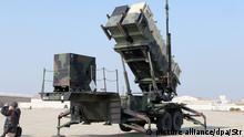 Südkorea Patriot Raketenabwehrsystem