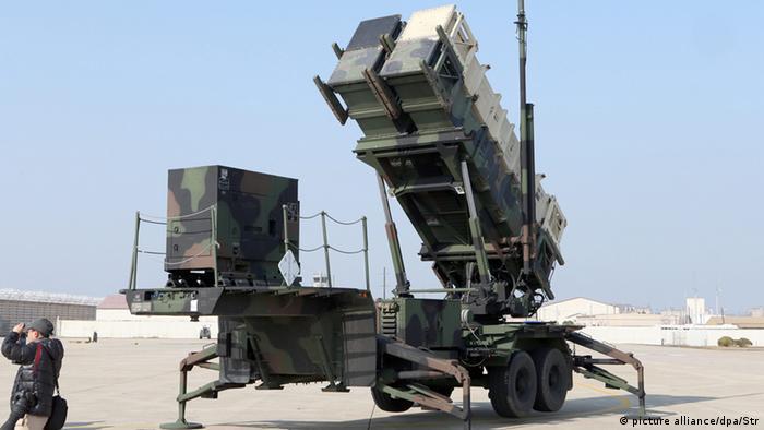 Американский ракетный комплекс Patriot (фото из архива)