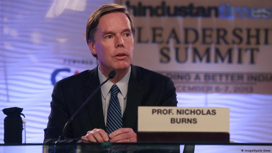 美國媒體爆料,老牌外交官尼古拉斯‧伯恩斯可能被提名為駐華大使