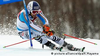 FIS World Cup Yuzawa Japan Fritz Dopfer Deutschland (picture-alliance/dpa/K.Mayama)
