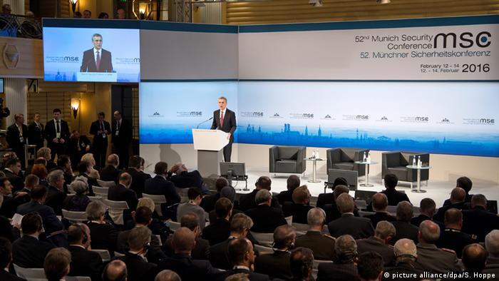 Мюнхенская конференция: Йенс Столтенберг