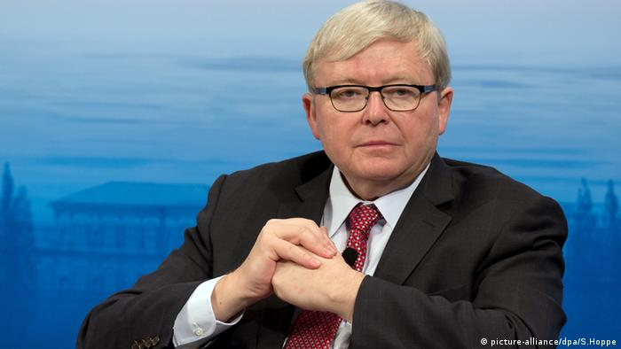 Kevin Rudd: 'We need to understand China's global strategy'