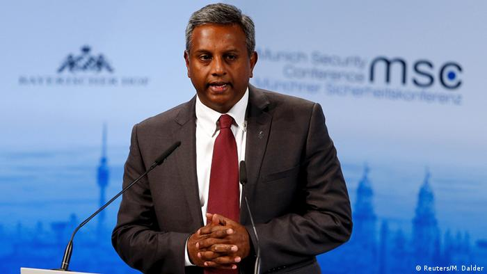 München Sicherheitskonferenz - Salil Shetty, Amnesty International (Foto: Reuters/M. Dalder)