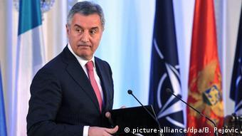Montenegro Parlament Premierminister Milo Djukanovic