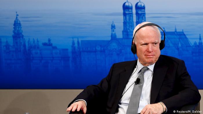 Джон Маккейн, 2016 г.