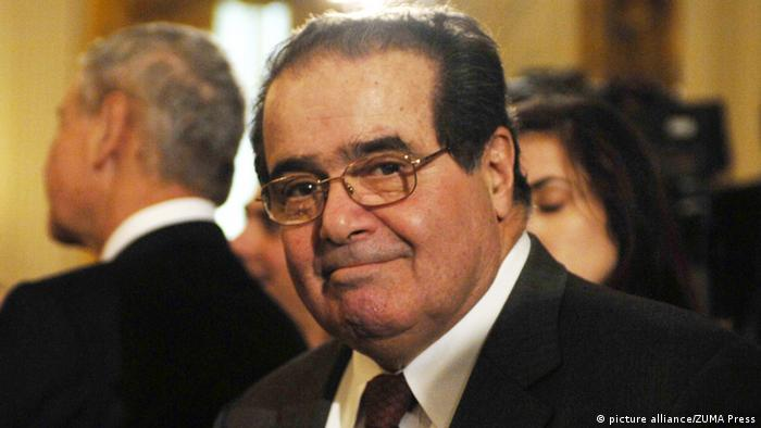 USA Jurist Antonin Scalia in Washington