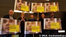 Deutschland Protestaktion zur Unterstützung von Oleg Senzow auf der Berlinale