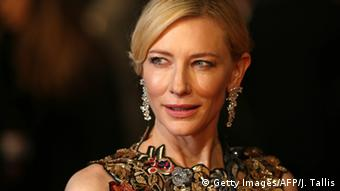 Foto von Cate Blanchett bei den BAFTA Awards 2016. (Getty Images/AFP/J. Tallis)