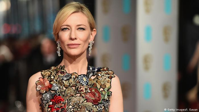 Cate Blanchett on the red carpet (Getty Images/I. Gavan)