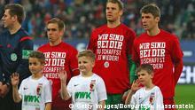 Deutschland Bundesliga FC Bayern München Unterstützung für Holger Badstuber