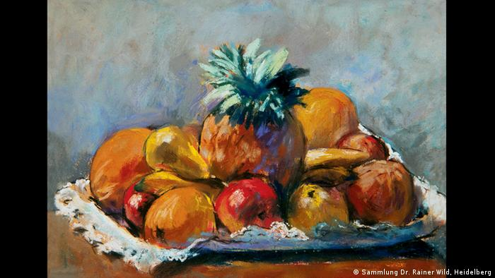 Лессер Ури (Lesser Ury / 1861–1931), Натюрморт с фруктами