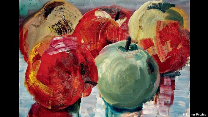 Райнер Феттинг, (Rainer Fetting), Яблоки из Карве II ( Äpfel aus Karwe II), 1993