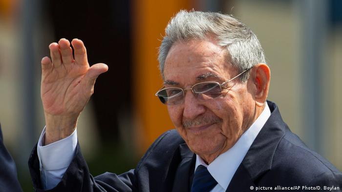 Kuba Präsident Raul Castro