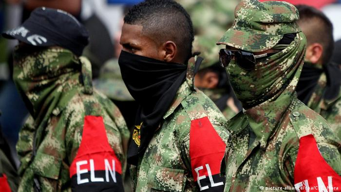 Symbolbild ELN Guerilla (picture-alliance/dpa/C. E. Mora)