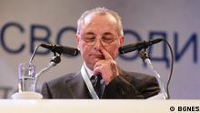 Den bulgarische Politiker Ahmed Dogan. +++(C) BGNES