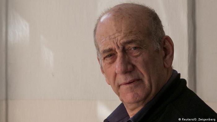 Israel Ehud Olmert (Reuters/O. Zwigenberg)