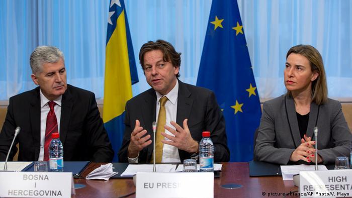 Belgien Bosnien-Herzegowina reicht Antrag auf EU-Beitritt ein