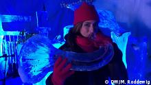 Norwegen Sarah Willis beim Ice Music Festival in Geilo