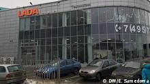 Russland Lada in Moskau