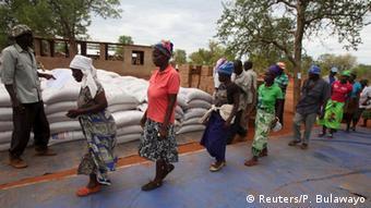 Simbabwe Dürre Hilfslieferungen
