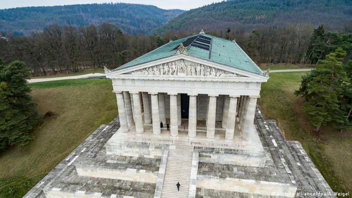 Germany the Walhalla memorial in Donaustauf, Bavaria (picture-alliance/dpa/A. Weigel)