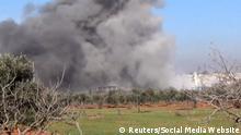 Syrien Idlib Krankenhaus Raketenangriff