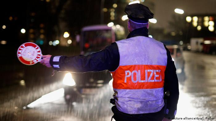 Deutschland Großkontrolle der Polizei gegen Alkohol und Drogen