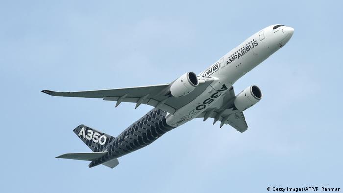 Singapur Airbus A350 XWB