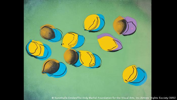 Энди Уорхол. Натюрморт с лимонами, 1978.