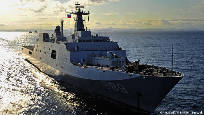 China Changbaishan Schiff in Russland