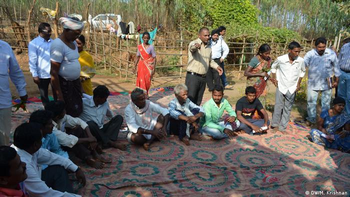 Indien Landwirte Treffen (DW/M. Krishnan)