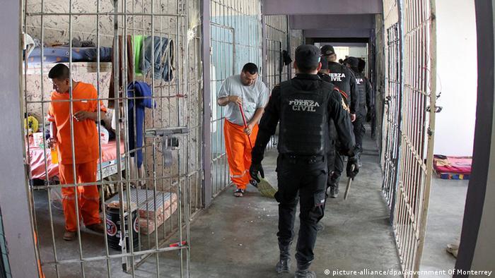 Mexiko Gefängnis in Topo Chico Luxus für Häftlinge (picture-alliance/dpa/Government Of Monterrey)
