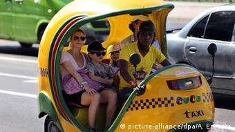 Kuba Tourismus Taxi