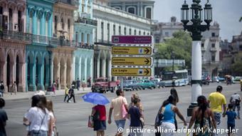 Kuba Tourismus Havanna