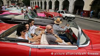 Kuba Tourismus Havanna Oldtimer