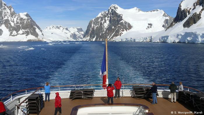 Living Planet Die Antarktis, der Tourismus und der Umweltschutz