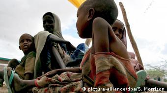 Hunger Dürre Kinder Afrika