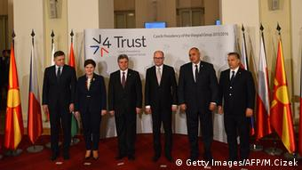 Visegrad Group meets in Prague
