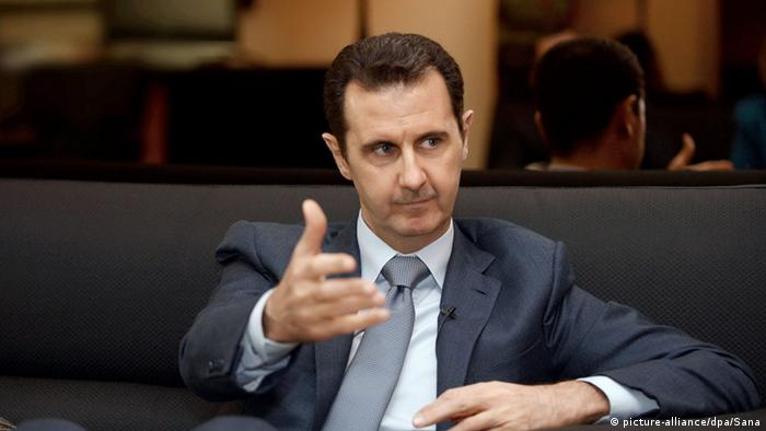 Syrien Präsident Bashar al-Assad